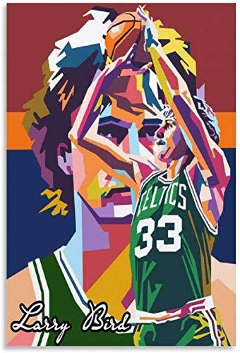 Pintura De La Lona 60x90cm Sin Marco Póster de decoración de habitación familiar moderna para baloncesto (2)