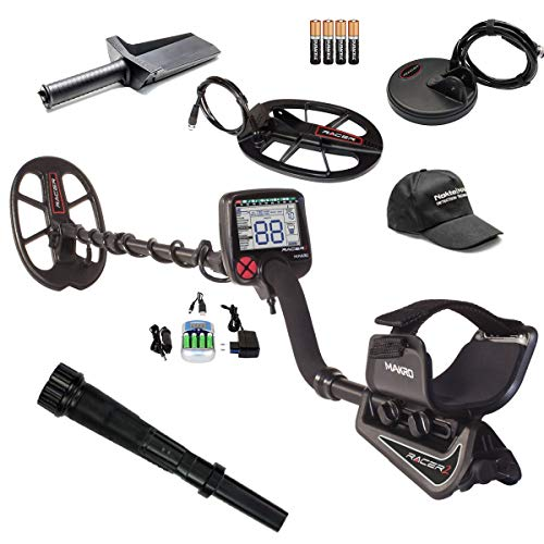 Purchase Nokta Makro Racer 2 Metal Detector Pro Package Bundle with Pulsedive Pointer, Digging Tool, and Hat