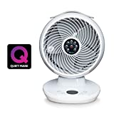 Meaco MeacoFan 360 Personal Air Circulator cooling fan for bedroom, desktop, ultra-quiet, energy efficient- White (Energy Class A)