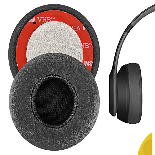 Par de Espuma para Fone Beats Solo 3 Cinza Escuro (Dark Gray) - Pronta Entrega no Brasil - Envio Rápido