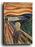 Printed Paintings Leinwand (40x60cm): Edward Munch - Der