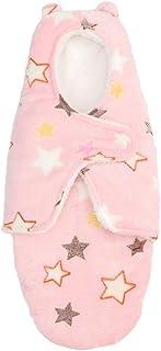 XFentech Baby Sleepsacks - Outdoor Casual Winter Baby Anti-Kick Plus Velvet SleepingSacks 0~6 Months,Style02,US S =Tag M