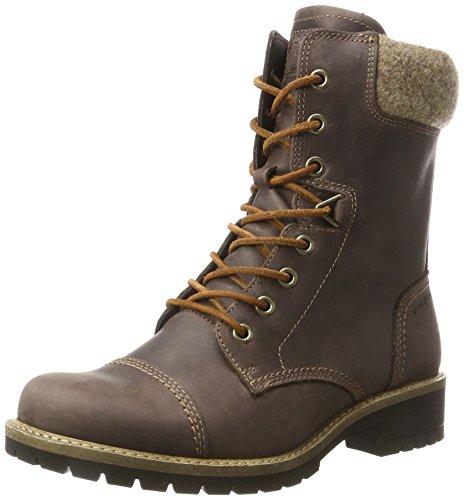 ECCO Damen Elaine Combat Boots, Braun (Mocha), 38 EU