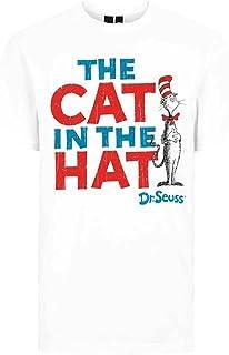 833d5a347 Dr. Seuss Official Men's Unisex Cat in The Hat White T-Shirt | Various