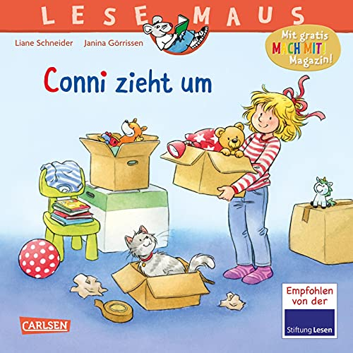 LESEMAUS 66: Conni zieht um: Bilderbuchgeschichte für Kinder ab 3 (66)