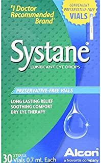 Systane Lubricant Eye Drops 30 Vials each Box