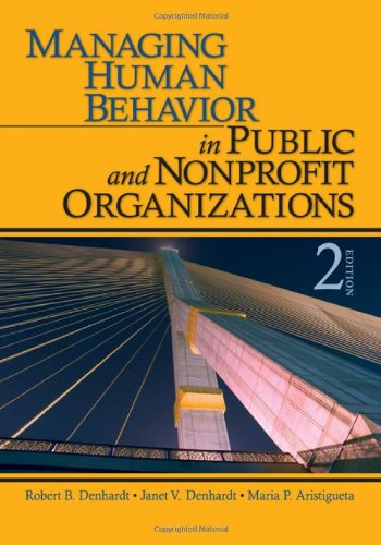 Managing Human Behavior in Public and Nonprofit...