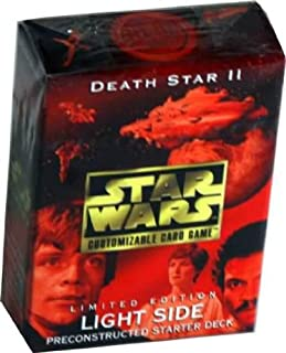 Star Wars Death Star II (2) Light Side Preconstructed Starter Deck (Limited Edition) for Star Wars Customizable Card Game by Decipher
