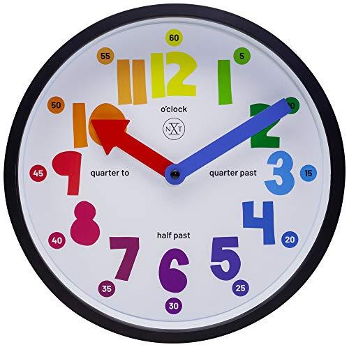 NeXtime 7357 Geräuschlose Uhren Kinderwanduhren