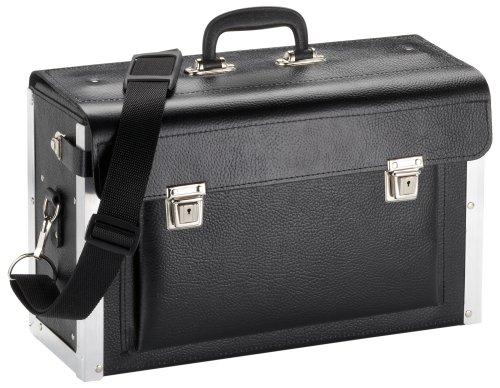 KS Tools 850.0310 Bolsa de Herramientas de Cuero, vacía (tamaño: 420 x 150 x 250 mm), 420x150x250mm