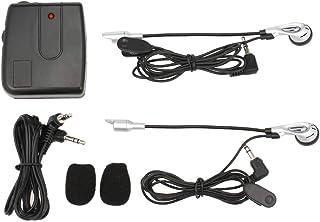 Docooler Fone de ouvido para capacete de motocicleta, intercomunicação bidirecional, com microfone