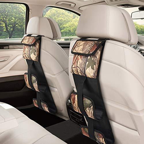 EZshoot Seat Back Gun Rack,Gun Holder for Trucks,Hunting Backseat Sling Rack for Rifles/Shotguns