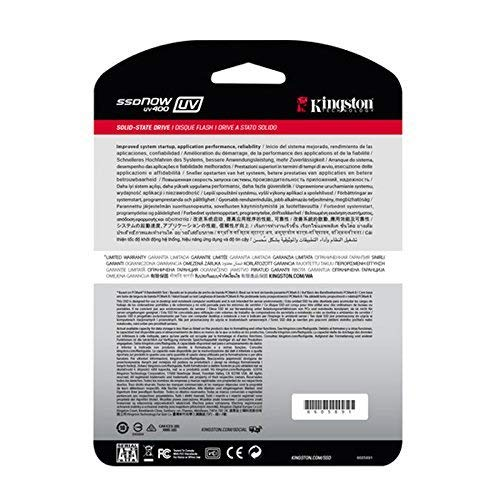 Kingston SSD Now UV400 - Disco duro sólido de 240 GB (2.5