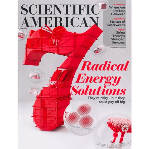 Scientific American, May 2011 audiobook cover art