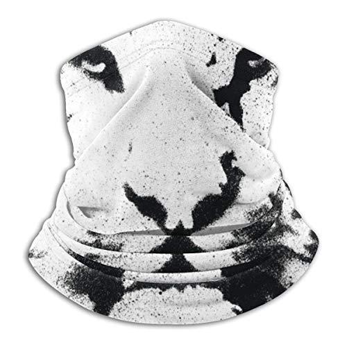 MJKII Tiger Stencil VectorBandana Face Cover Neck Gaiter Safety Protección completa Refrigeración transpirable Ice Silk Fabric Sun Protección UV Headwear Bufanda para hombres Mujeres Pasamontañas par