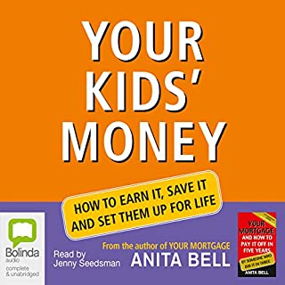 Your Kids' Money                   By:                                                                                                                                 Anita Bell                               Narrated by:                                                                                                                                 Jenny Seedsman                      Length: 8 hrs and 7 mins     5 ratings     Overall 1.8