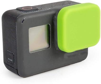 Alikeey Zubehör Neueste Weiche Silikon Schutzhülle Objektivdeckel Für Gopro Hero 5 6 7 Kamera Gn Sport Freizeit