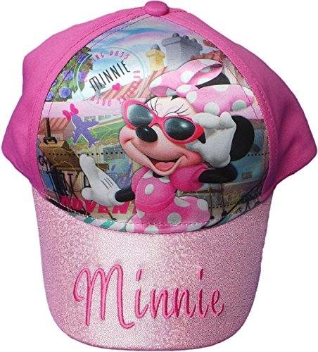 Disney Minnie Maus Cap - Minnies Travel Adventure - Das Reise Abenteuer mit Minnie - Rosa/Pink/Mehrfarbig