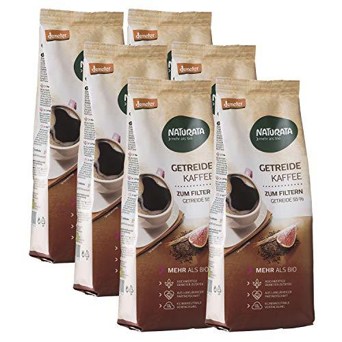 NATURATA Getreidekaffee zum Filtern, 6x 500g