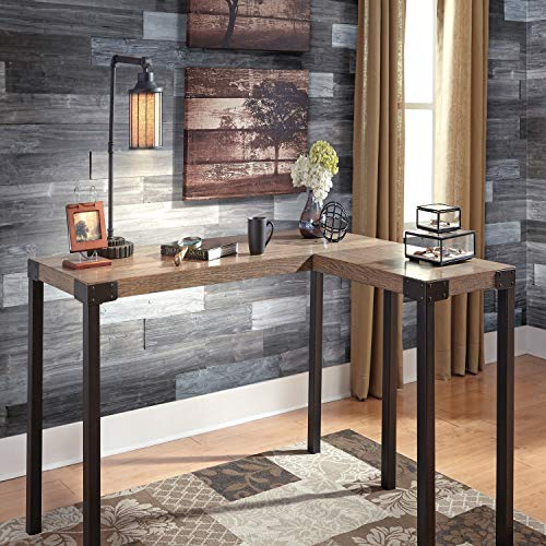 Easy Installation DIY Self Adhesive Reclaimed Wood Planks Wall Decor, Weathered Rustic Barn Wood Wall Panels, Premium Set of 12 Wood Planks (19.5 sq. ft. per Box) (1 Box Set, 1103A Design)