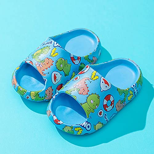 Zapatillas Boys Girls Linda Dibujos Animados Playa, Sandalias de Slide Sandalias Baño Piscina Ducha Zapatos Antideslizantes Suave Casa Flip Flops Hombres Mujeres