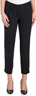 Anne Klein Slim Fit Crop Petite Pants, Black, 8 Petite