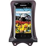 DiCAPac WP-C1 funda impermeable de Smartphone para varios modelos Samsung Galaxy S4 S3, Google nexo 4, HTC DROID DNA, HTC 8X, HTC One, Sony XPERIA Z, XPERIA TL, MOTOROLA DROID RAZR MAXX, LG Optimus G etc. (de color marrón oscuro)