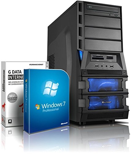 Gaming-PC Computer Bulldozer Six-Core AMD FX-6300 6x3.5GHz (Turbo bis 4.1GHz), GeForce GTX750Ti 2GB DDR5, 1.5TB HDD, 8GB RAM, Win7, DVD RW, 6X USB2.0, GBit LAN, Gamer-PC #4740