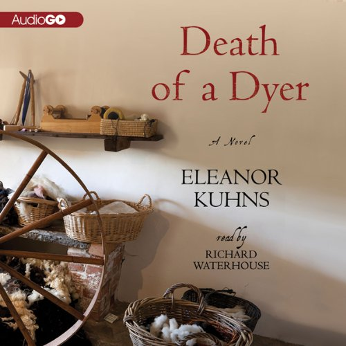 Death of a Dyer audiobook cover art
