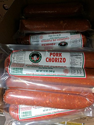 Reynaldo's Pork Long Beach Mall Chorizo Sausage Price reduction Oz 6 12 Pack