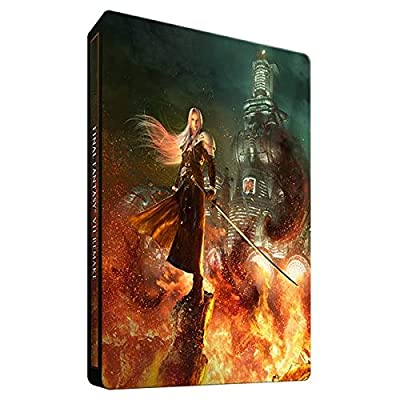 PS4 Final Fantasy 7 VII Remake Steelbook Only (No game)