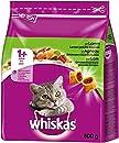 Whiskas Katzenfutter Trockenfutter Adult 1+ mit Lamm, 5 Beutel (5 x 800g)