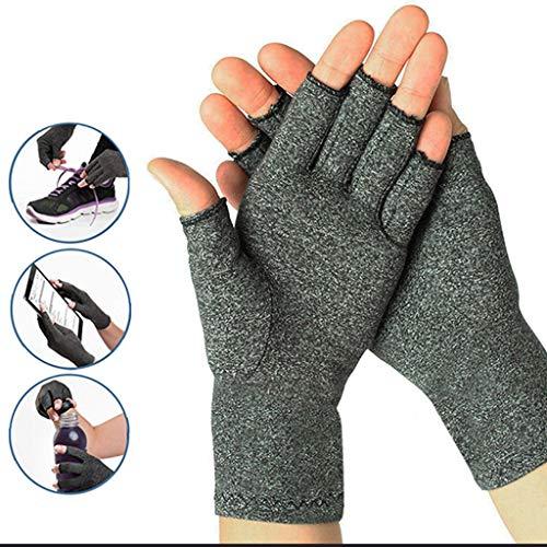 ECMQS 1 Paar Arthritis Handschuhe Für Herren Damen, Arthritis Kompressions-Handschuhe Gloves Wirkt Schmerlindernd Bei Rheumatoide, Karpaltunnel Für Computer-Typisierung Arbeit