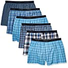 Hanes Ultimate mens Tagless Boxer With Exposed Waistband – Multiple Packs Available