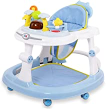 FUG Baby Walker Baby Walking Car Multifunctional Anti Rollover Folding Learning Toy Car