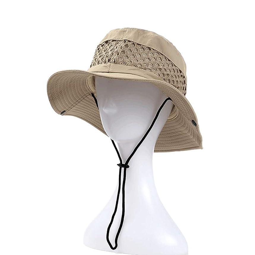 回転する同盟盗難日よけ帽 日曜日の帽子屋外の男性の夏の漁師のバイザーの紫外線保護メンズ日焼け止めの釣りキャップ55-59cm ZHAOSHUNLI
