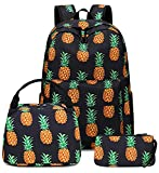 Teens Backpack School Grils Bookbag Schoolbag with Lunch tote and Pencilcase for Kids