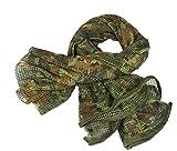 XUE Tactical Écharpe à Réseau Shemagh Keffieh Foulard Militaire Filet De Camouflage...