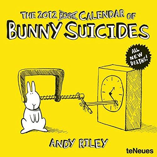 Andy Riley Bunny Suicides 2012 Calendar