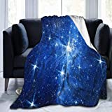 BXBX Star - Manta de Felpa para Mujer, Manta de Felpa, Peluda, para Cama, sofá, sofá