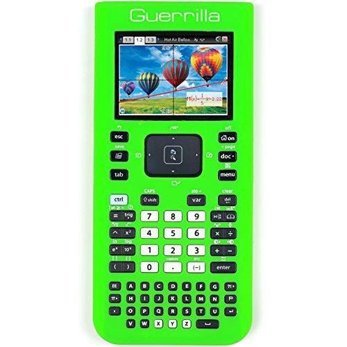 Guerrilla Silicone Case for Texas Instruments TI Nspire CX/CX CAS Graphing Calculator, Green Photo #4