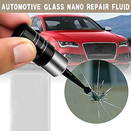Thzc 2pc Automotive Glass Nano Repair Fluid Rissreparatur Kratzreparatur Reparaturflüssigkeit Auto