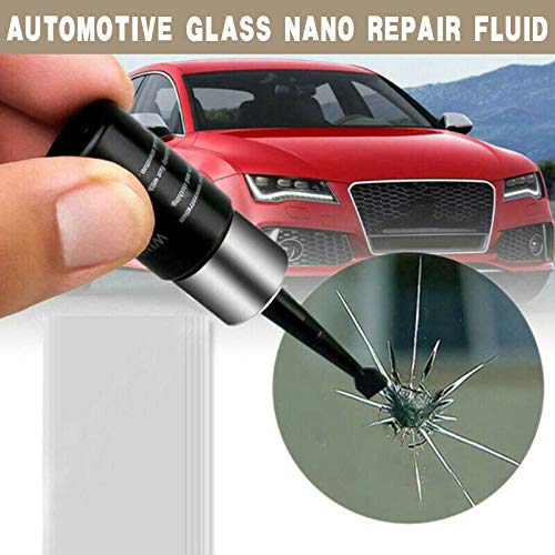 THZC 2Pc Automotive Glass Nano Repair Fluid. Rissreparatur, Kratzreparatur, Reparaturflüssigkeit