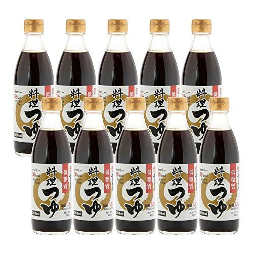 [タケサン] だし醤油 (低糖質タイプ) 料理つゆ 360ml×10本 煮物/めんつゆ などに