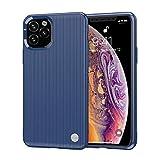 niter - cover in silicone per iphone xr2/xi r, motivo a cuore, morbida e tpu blu taglia unica