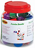 Edushape Ez-Grip Jumbo Beads, 58 Piece