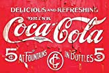 CocaCola Logo Vintage Style Advertising Sign Poster 36x24