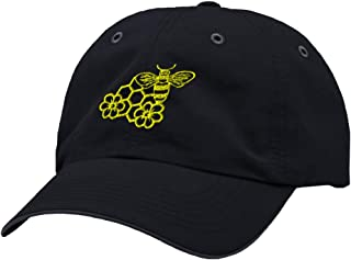Custom Richardson Running Cap Bee Honey Comb and Flowers Embroidery Hat