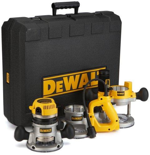 DEWALT Router, Fixed/Plunge Base Kit, 12-Amp, 2-1/4-HP (DW618B3)