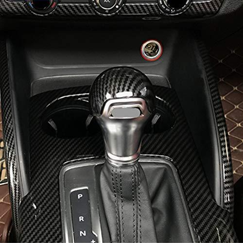 HERBEN Real Carbon Fiber Gear Shift Knob Cover Trim for BMW F20 F30 F31 F34 X5 F15 X6 F16 X3 F25 X4 F26 F10 Panel